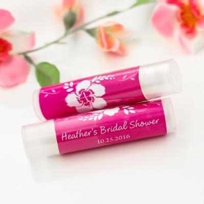 Personalized Lip Balm bridal showe Favors