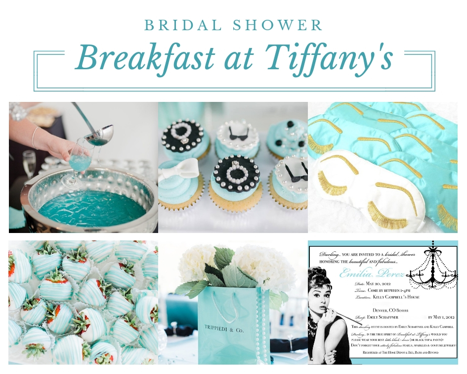 Tiffany And Co Bridal Shower Ideas Themes