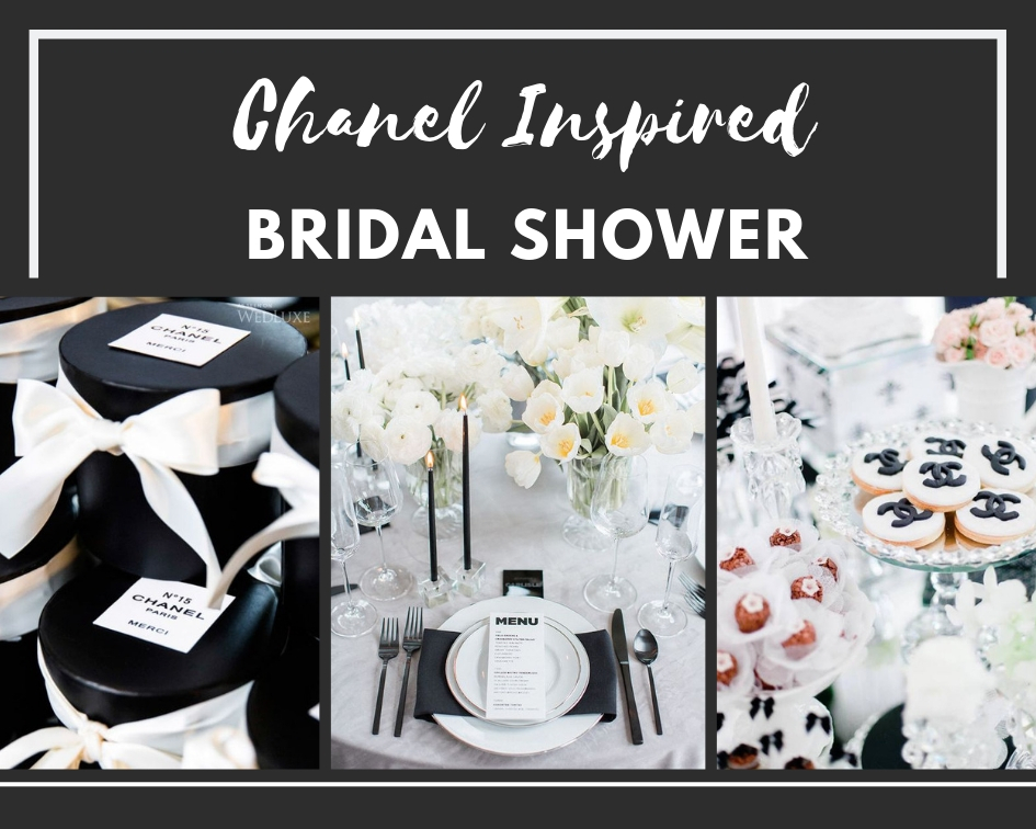 412fa80f531d Chanel Inspired Bridal Shower Ideas - Themes
