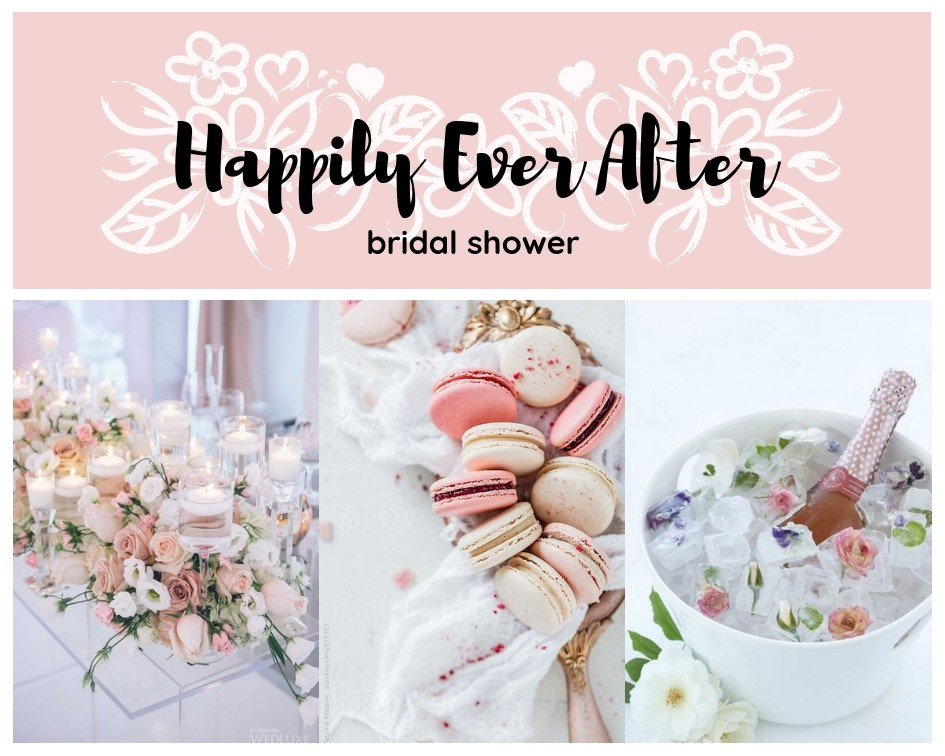 d6664143a58 Happily Ever After Bridal Shower Theme Ideas - Decorations