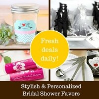Shop Bridal Shower Favors @ Beau-coup.com