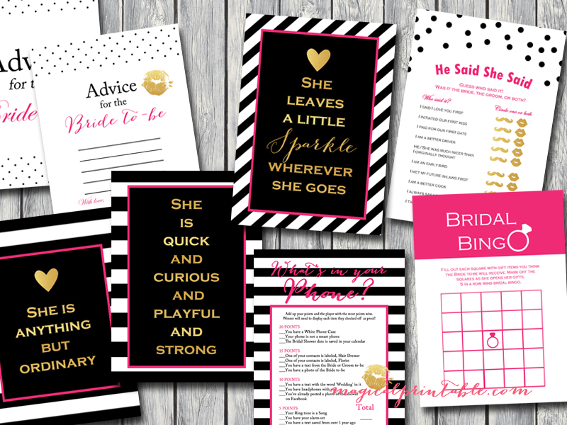 kate spade inspired bridal shower - bridal shower ideas