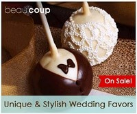 Unique Wedding Favors from Beau-coup.com