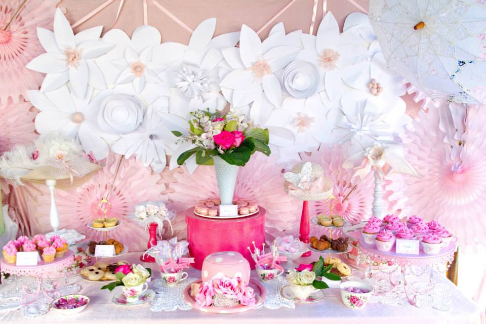 pink and white high tea bridal shower bridal shower ideas themes