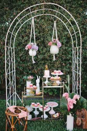aloha luau bridal shower - bridal shower ideas