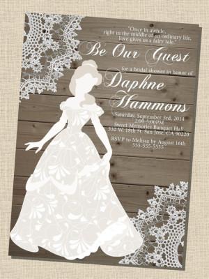 89c789d36b03 Disney Bridal Shower Ideas - Bridal Shower Ideas - Themes