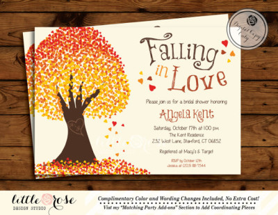 32f0ff6c2c69 Falling in Love Bridal Shower Theme Ideas - Bridal Shower Ideas - Themes
