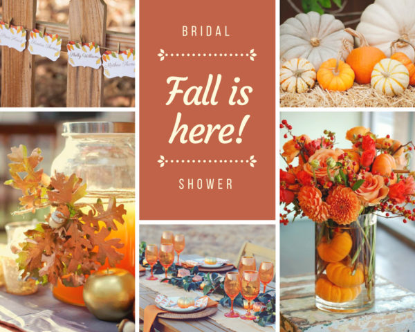 falling in love bridal shower theme ideas