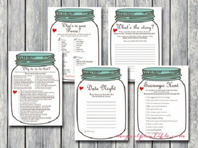 Mason Jars Bridal Shower Ideas Bridal Shower Ideas Themes