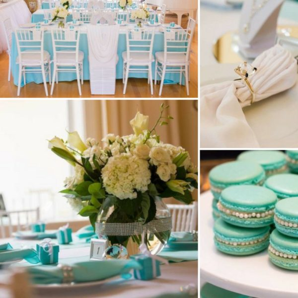 tiffany and co bridal shower ideas