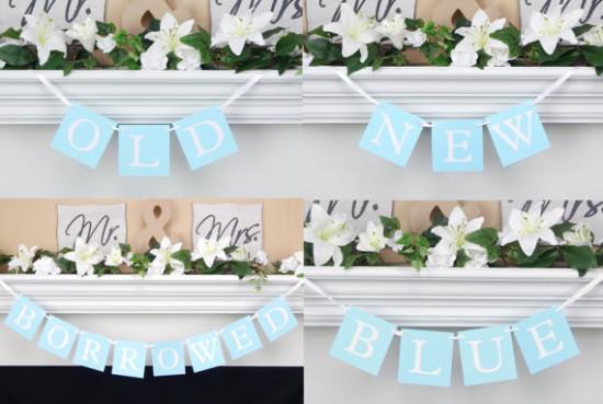 Something Blue Bridal Shower Ideas Bridal Shower Ideas Themes