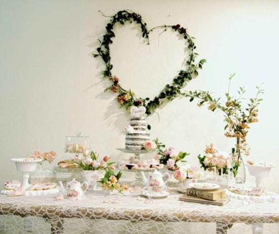 hearts and cookies rustic bridal shower bridal shower. Black Bedroom Furniture Sets. Home Design Ideas