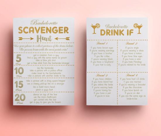 Bachelorette Show Drinking Games