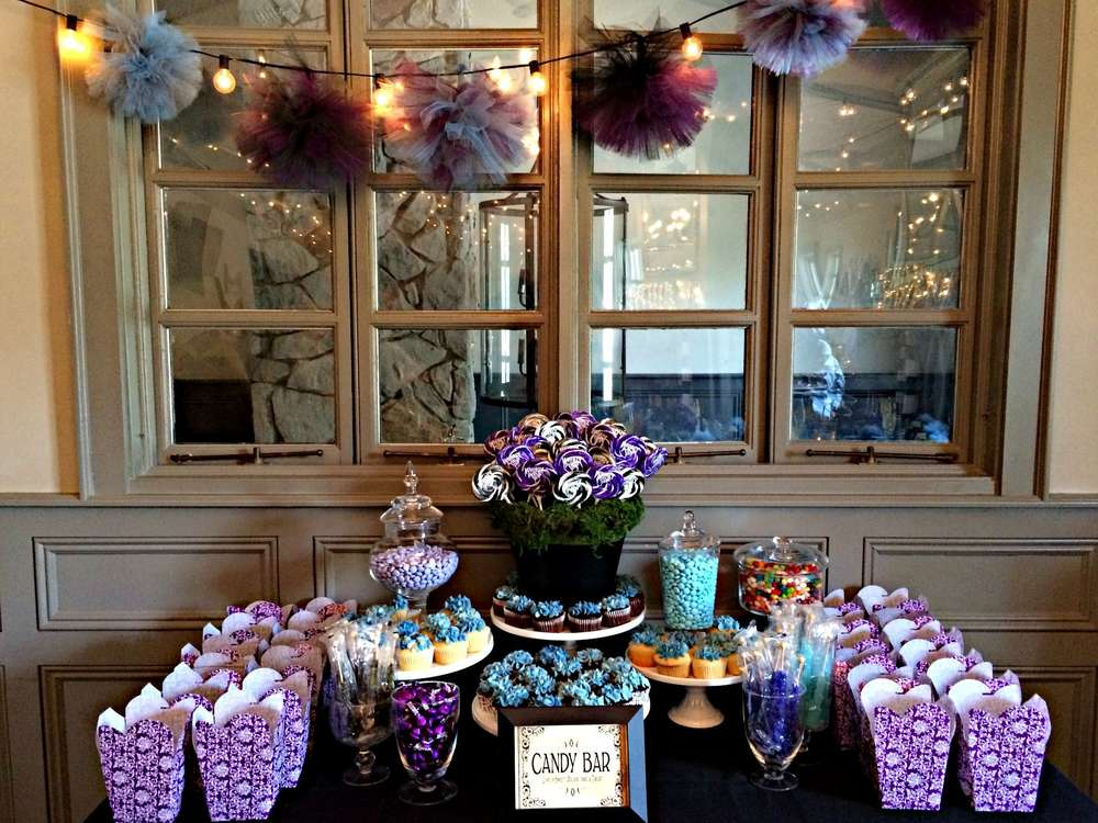 tim burton inspired bridal shower