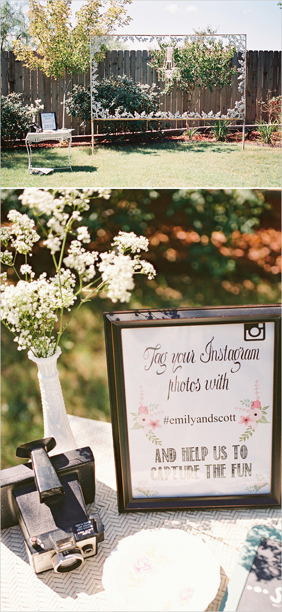 Elegant Outdoor Couple Bridal Shower - Bridal Shower Ideas ...