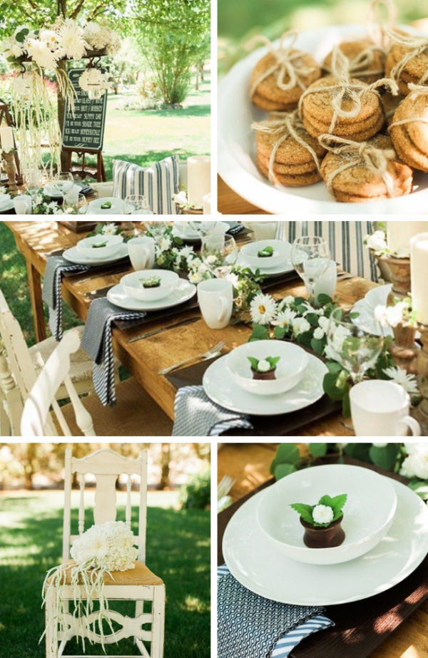 23d086e9051 Outdoor Cowgirl Bridal Shower - Bridal Shower Ideas - Themes