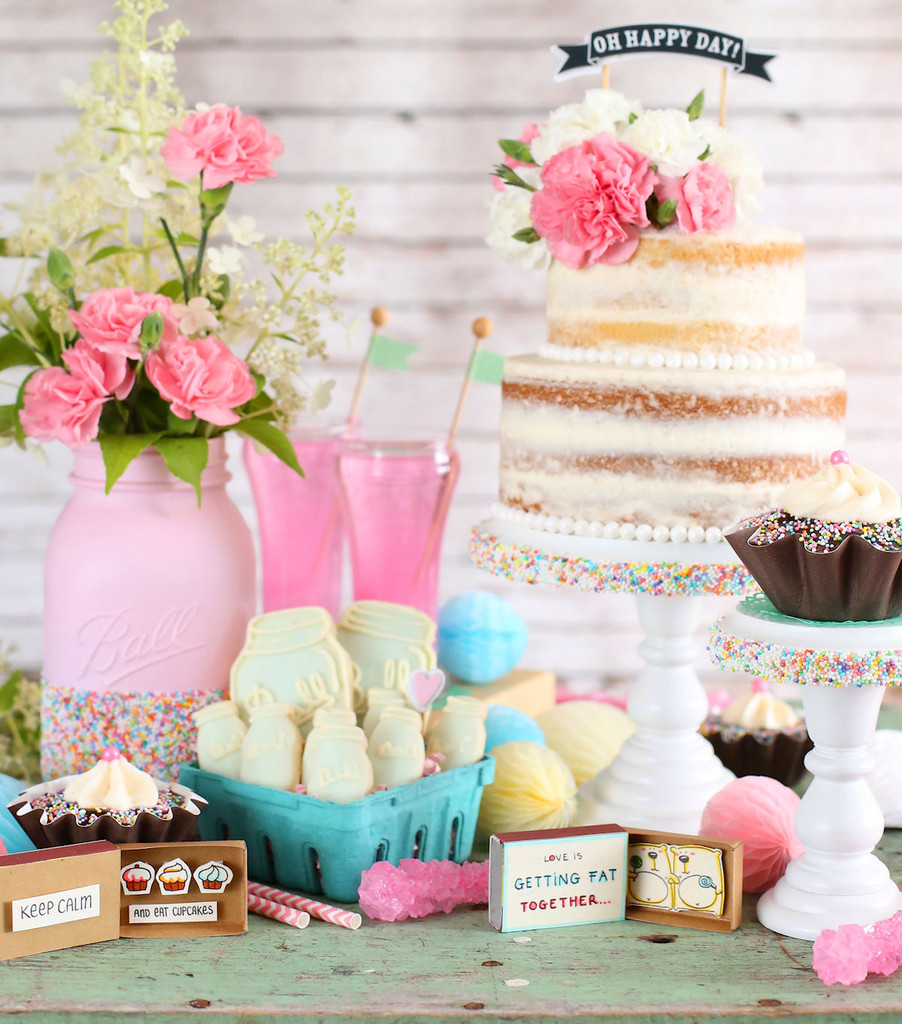 country chic bridal shower ideas