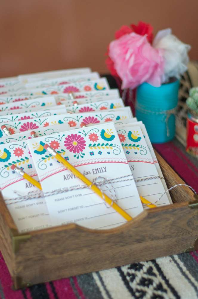 Colorful Fiesta Bridal Shower Bridal Shower Ideas Themes