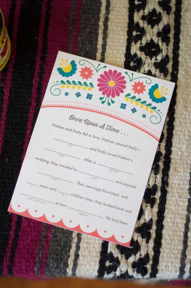 colorful fiesta bridal shower - bridal shower ideas
