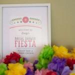 Colorful Fiesta Bridal Shower