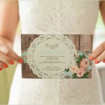 Mint And Peach Vintage Bridal Shower