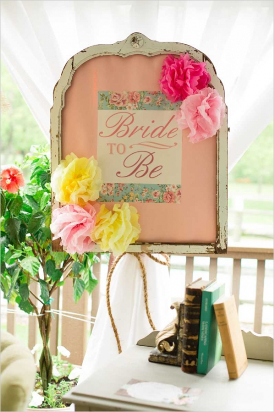 Mint And Peach Vintage Bridal Shower Bridal Shower Ideas