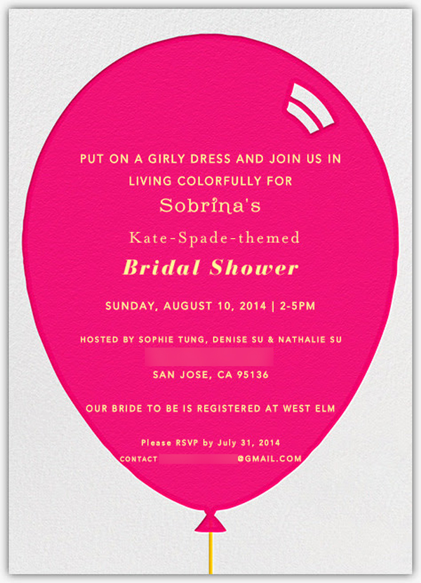 modern kate spade inspired bridal shower bridal shower ideas