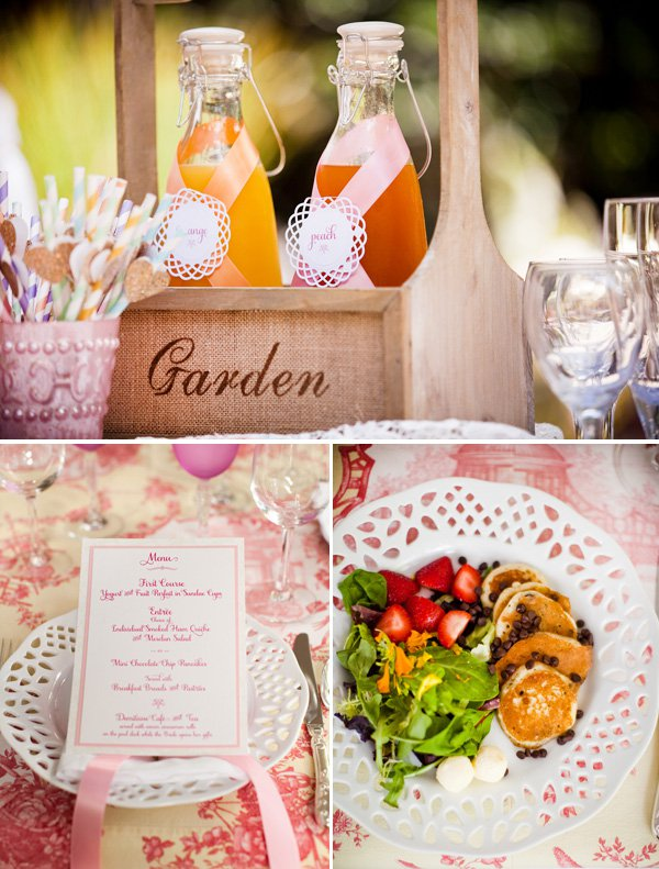 Outdoor Bridal Shower Ideas Part - 46: ... Outdoor-Vintage-Lace-Tea-Party-Bridal-Shower-Edibles ...
