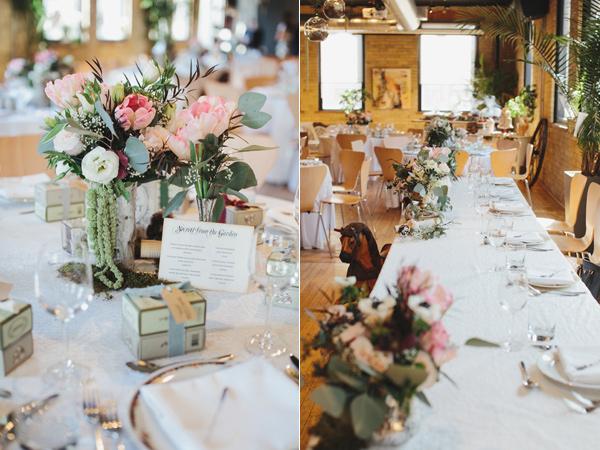 ... Whimsical Secret Garden Inspired Bridal Shower Floral Decor ...