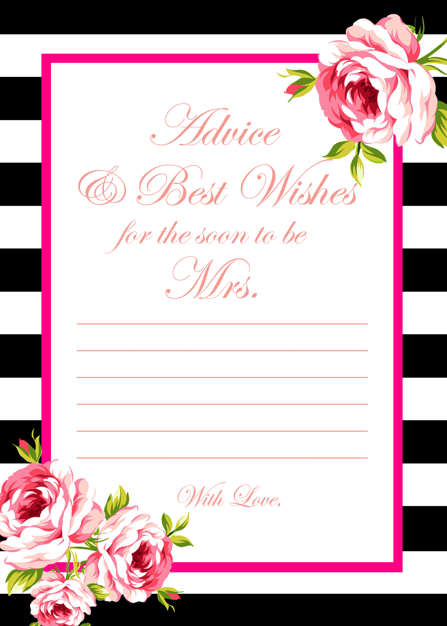 2 free printable games archives bridal shower ideas themes for Templates for bridal shower games