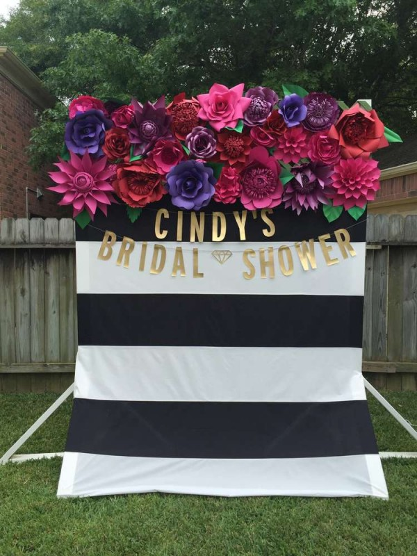 Colorful Spanish Garden Shower Bridal Shower Ideas Themes