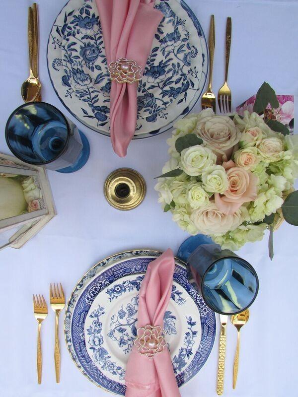 Elegant Floral Outdoor Bridal Shower Bridal Shower Ideas Themes
