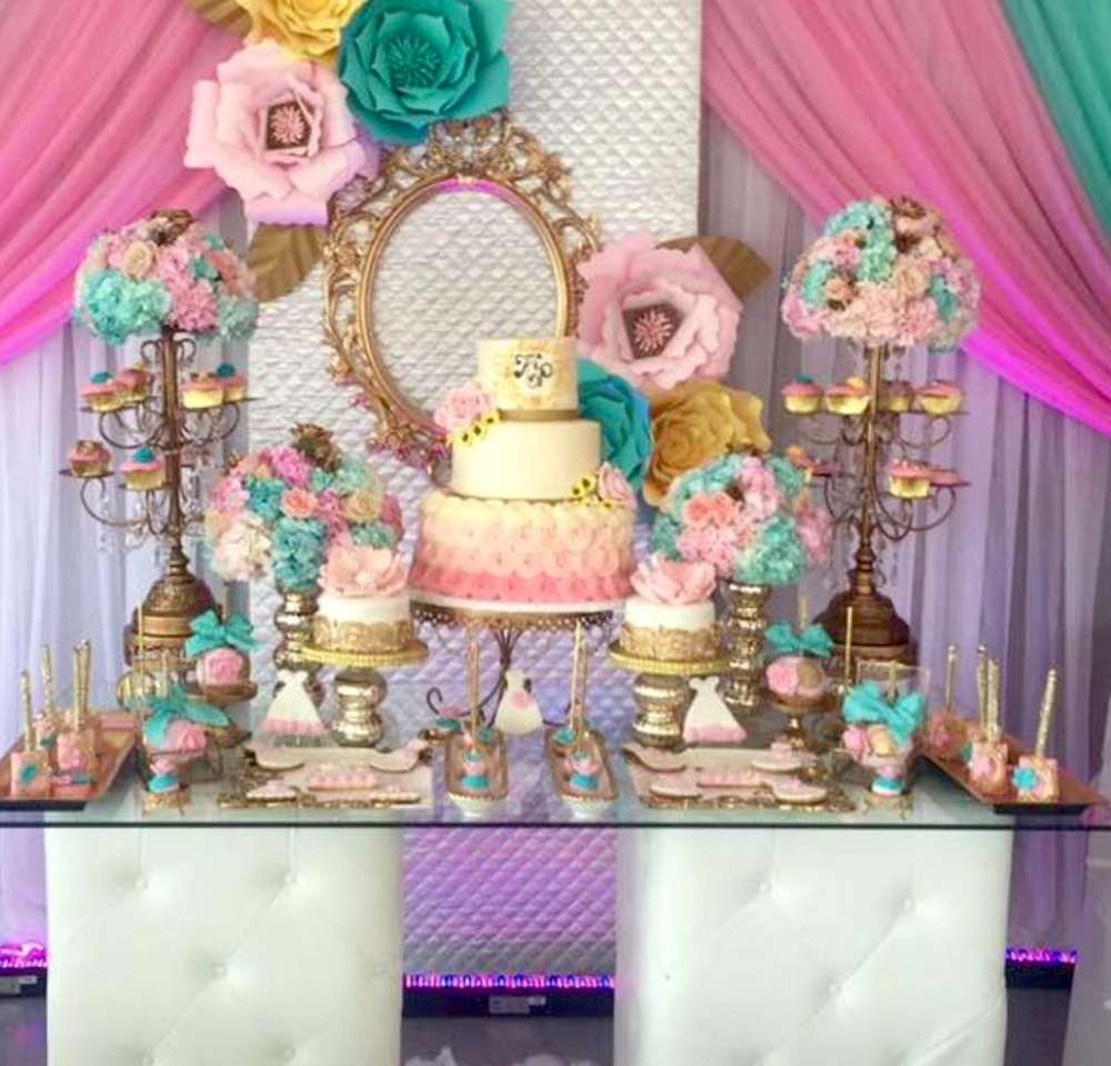 pretty in pastel bridal shower