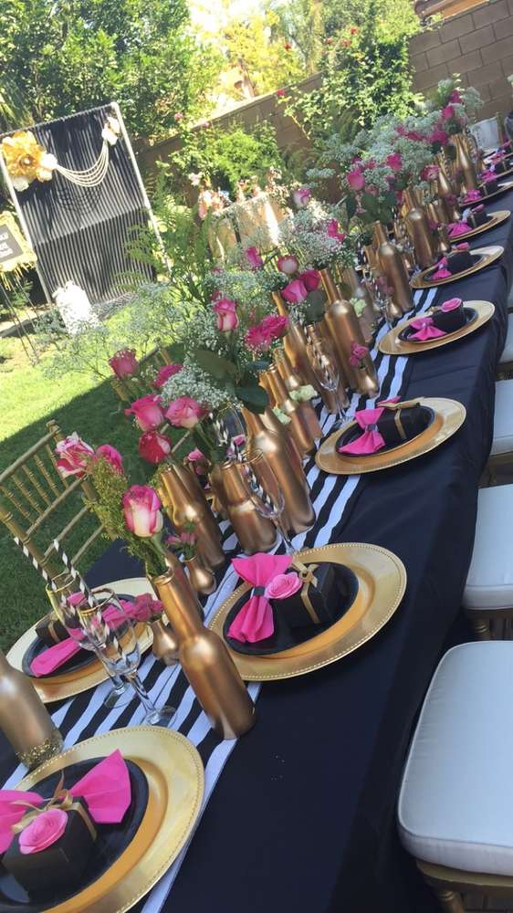 Floral Kate Spade Inspired Bridal Shower Bridal Shower