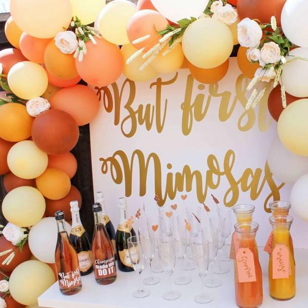 Morning Mimosa Bridal Shower Bridal Shower Ideas Themes