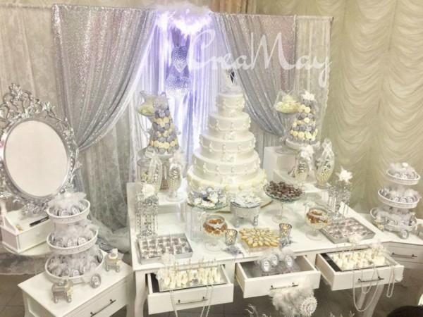 Silver Wonderland Wedding Bridal Shower Ideas Themes