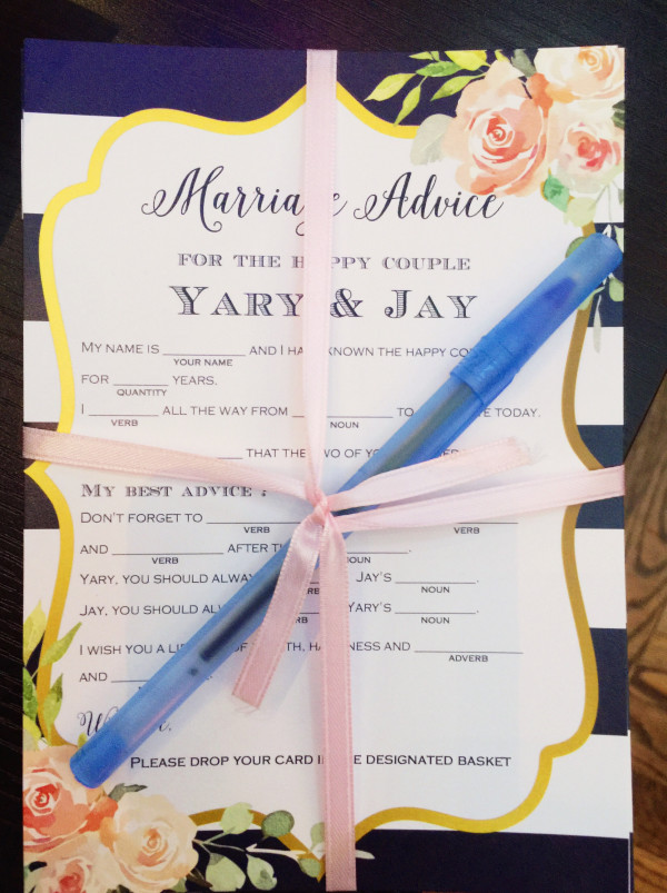 marriage-advice-bridal-shower-activities