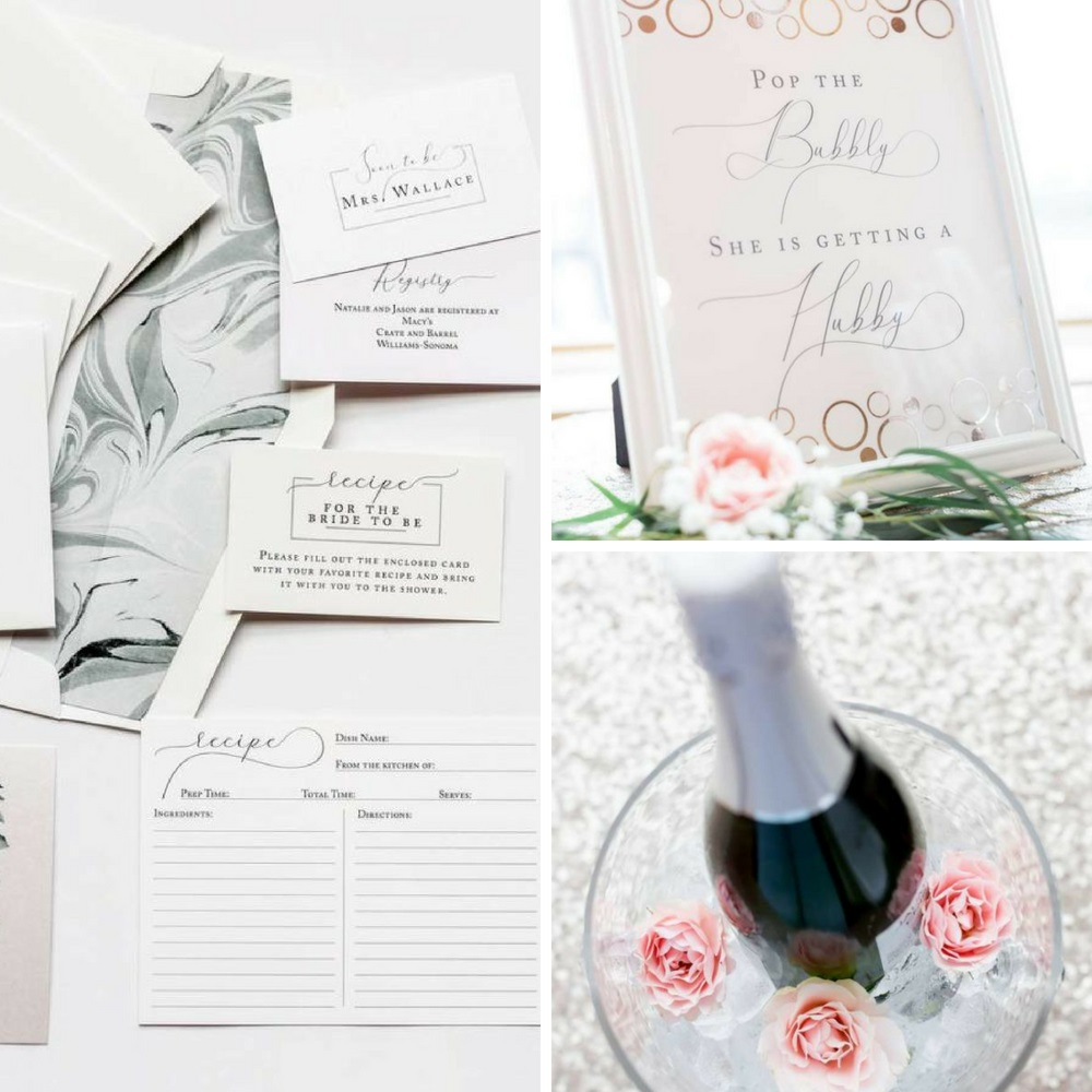 Rose gold and eucalyptus bridal shower bridal shower ideas themes jaime events did a lovely job of designing this gorgeous rose gold and eucalyptus bridal shower simple yet charming each decoration for the event altavistaventures Images