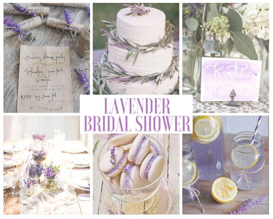 Lavender Bridal Shower Ideas Mood Board Bridal Shower