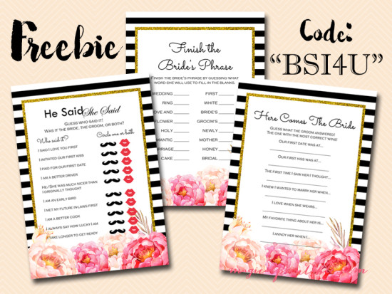 photograph relating to Bridal Shower Games Free Printable called No cost Peonies Printable Bridal Shower Video games - Bridal Shower