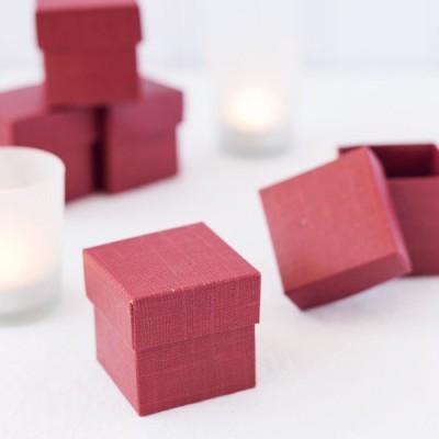 Piece Square Favor Boxes