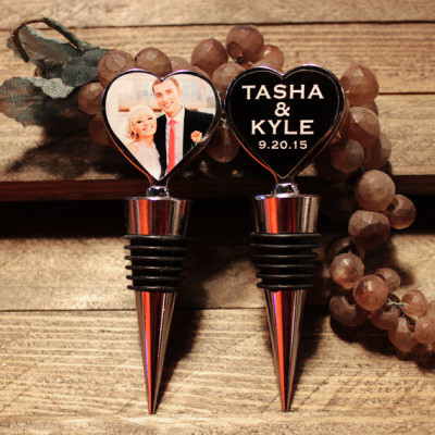 Wine Bottle Stoppers with Custom Double sided Personali