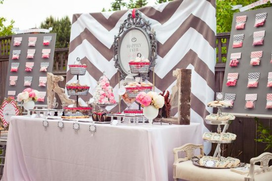 Vintage Modern Bridal Shower Bridal Shower Ideas Themes