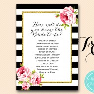 graphic regarding Kiss the Miss Goodbye Printable referred to as Freebies 4 U - Bridal Shower Designs - Themes