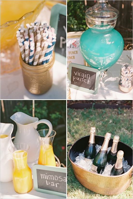 Elegant Outdoor Couple Bridal Shower Bridal Shower Ideas