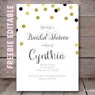 free-editable-gold-dots-bridal-shower-invitation-printable