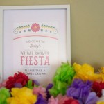 Colorful Fiesta Bridal Shower