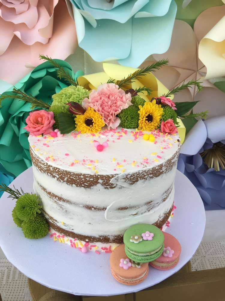 Luscious Flower Bridal Tea Party Bridal Shower Ideas